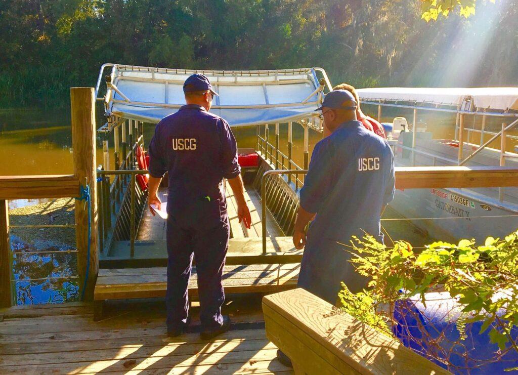 Cajun Encounters coast guard inspected Cajun Encounters Tour Company, New Orleans