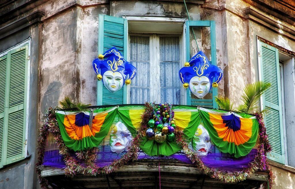 New Orleans Mardi Gras festive Cajun Encounters