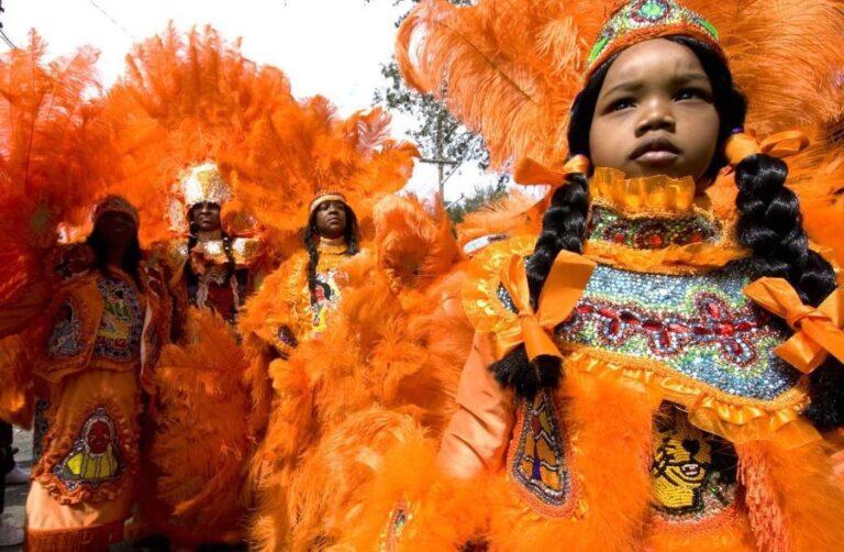 Mardi Gras Indians Cajun Encounters